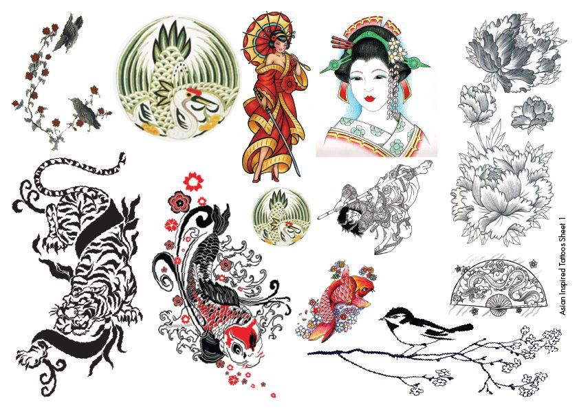 Meaningful Asian Tattoo Designs And Ideas