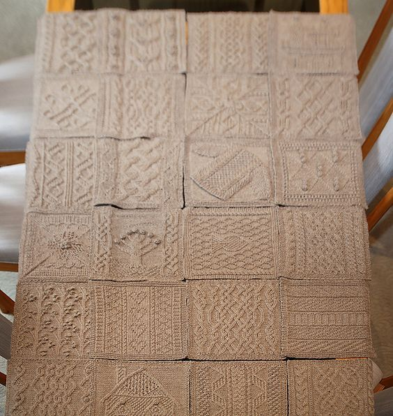 janruss316's Great American Aran Afghan | Free knitting ...