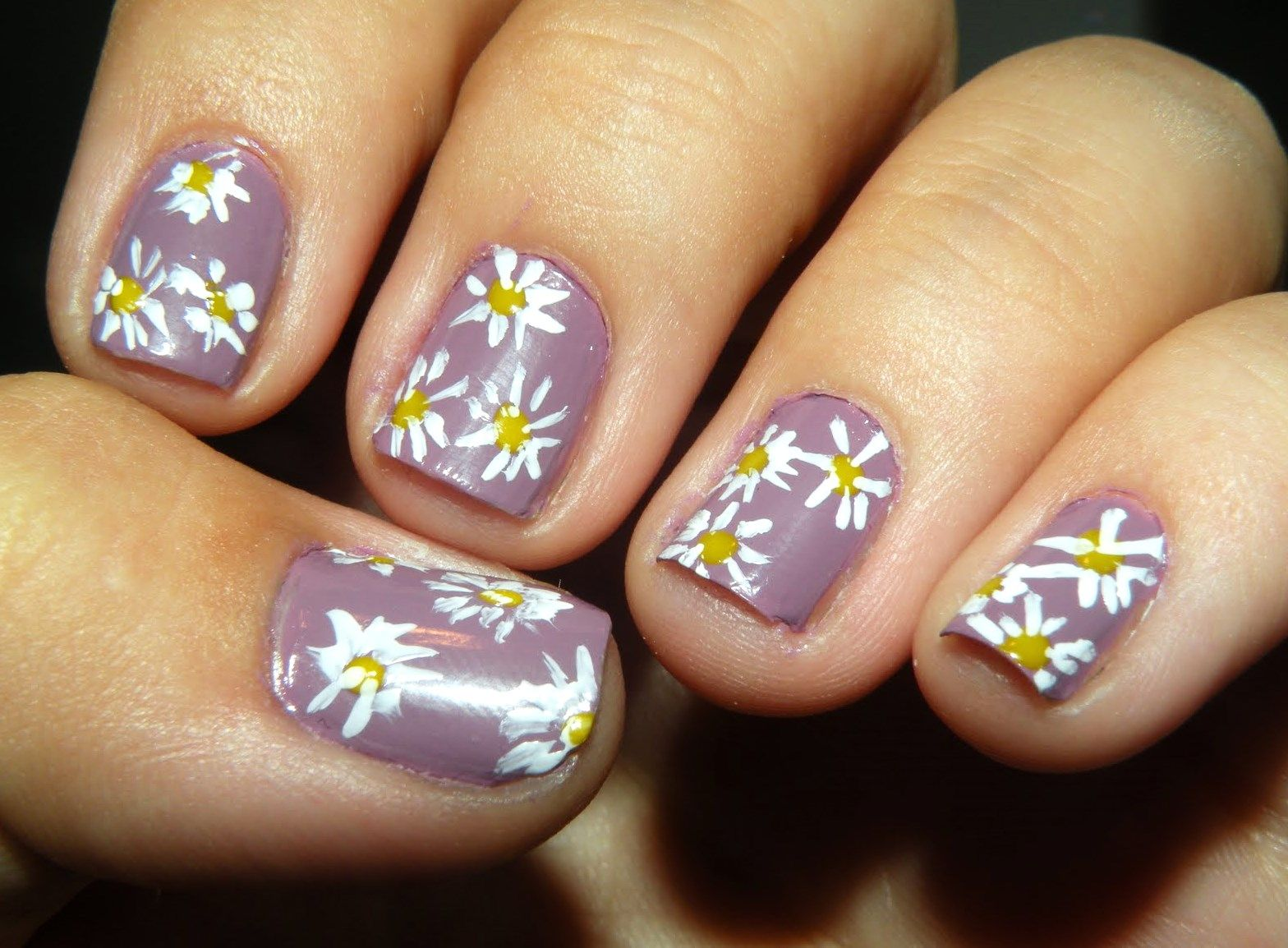 Decent Nail Art Flowers
