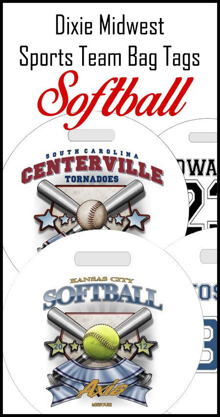 Personalized Softball Bag Tags For One Player Or The Whole Team Personalized Softball Gifts Personalized Softball Softball Team Gifts