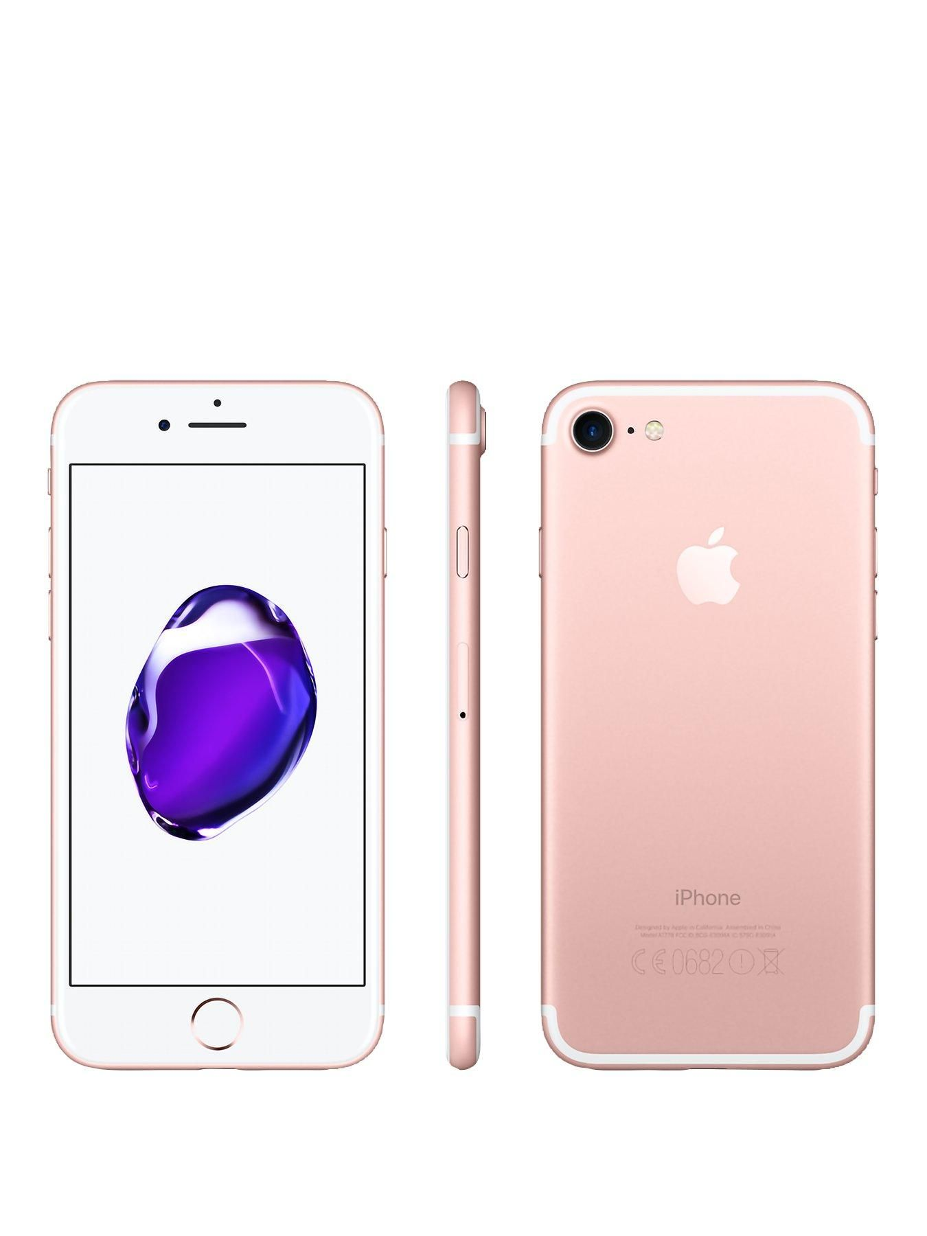 Apple Iphone 7 128gb Rose Gold Rose Gold In 2020 Iphone