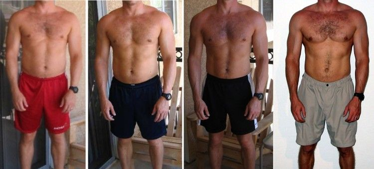Before And After Pics Of Gradual Results From Physical Training Bodyweight Exercises Done At Home No Need For A Gym