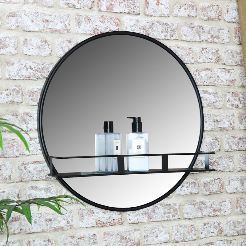 Round Wall Mirror With Shelf Wall Mirror With Shelf Mirror With Shelf Mirror Wall