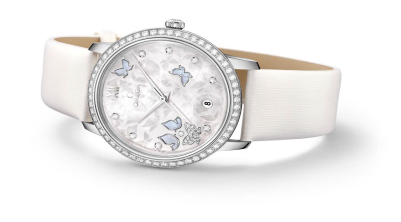 #omega #watches #swisswatches love serene colours OMEGA De Ville Prestige launched at INR 13,10,500/- , Euro 1,5473