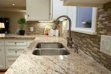 My Countertops U0026 Backsplash :) Galileo Ornamental Granite