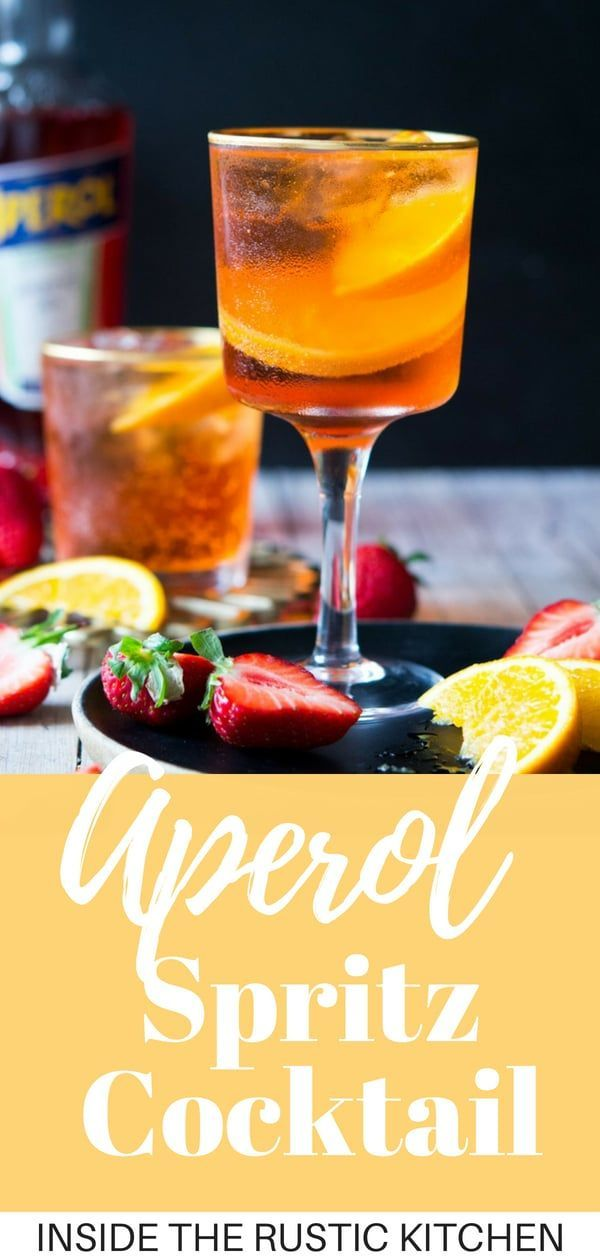 Aperol Spritz Cocktail   Rezept   DELICIOUS RECIPE BOARD   Pinterest ...