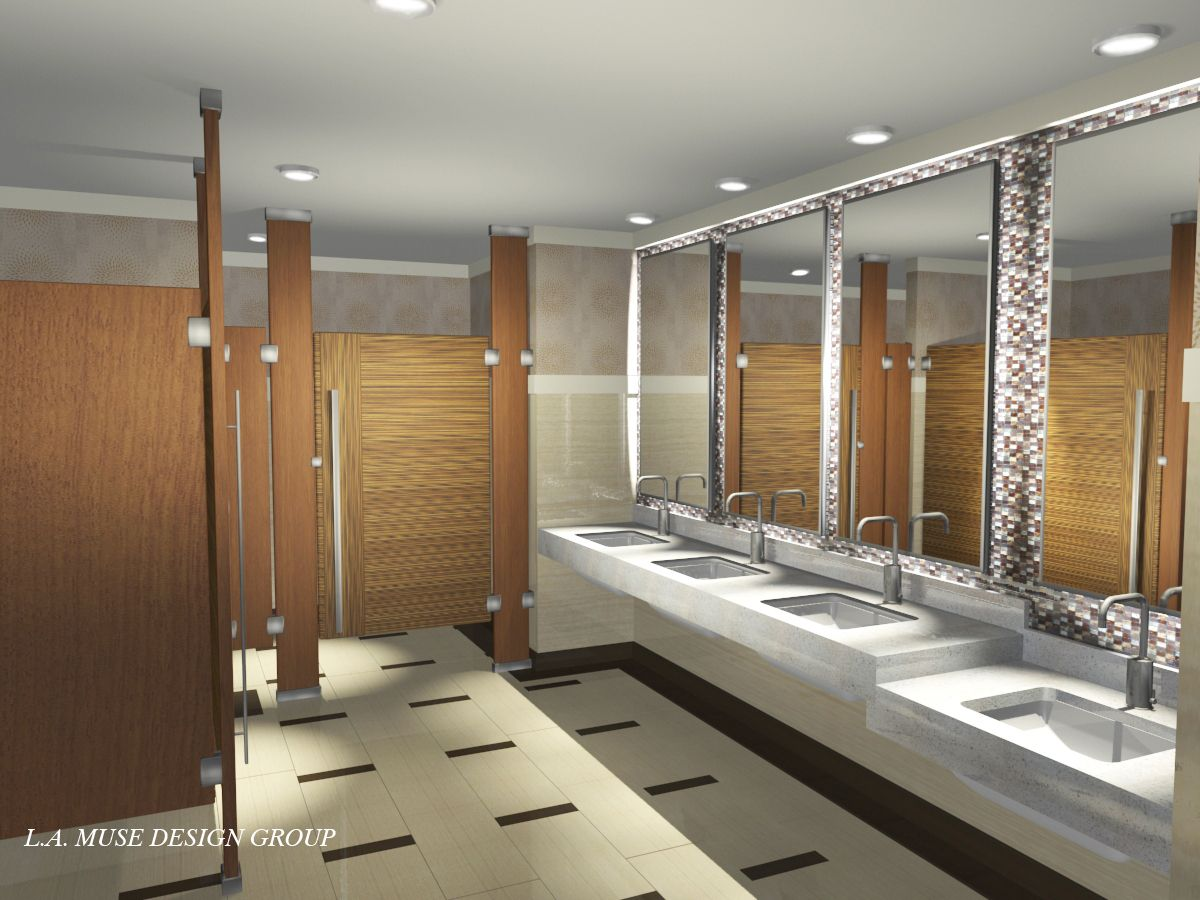 Public restroom design google search restrooms for Toilet room decor