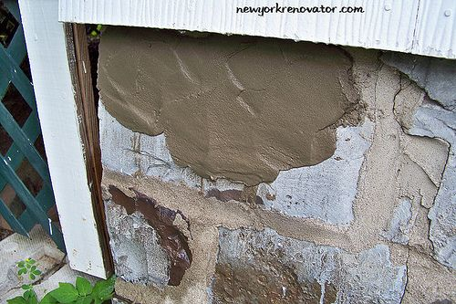 Parge It On By Mrsmecomber Via Flickr Home Repair Wall Foundation