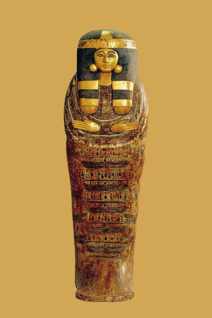 Coffin  of a Pristess