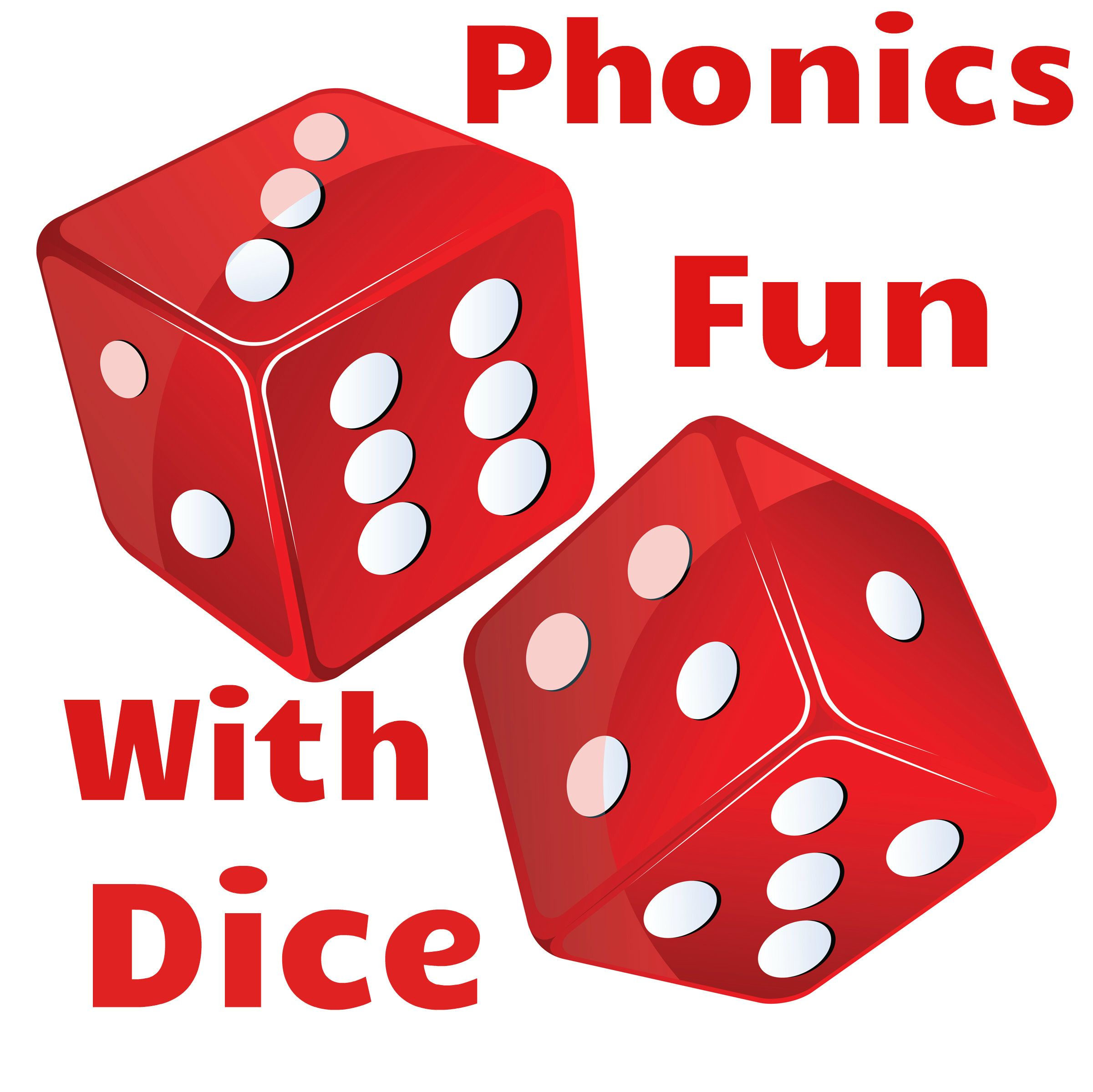 Phonics Fun With Interactive Dice! Add your own words to