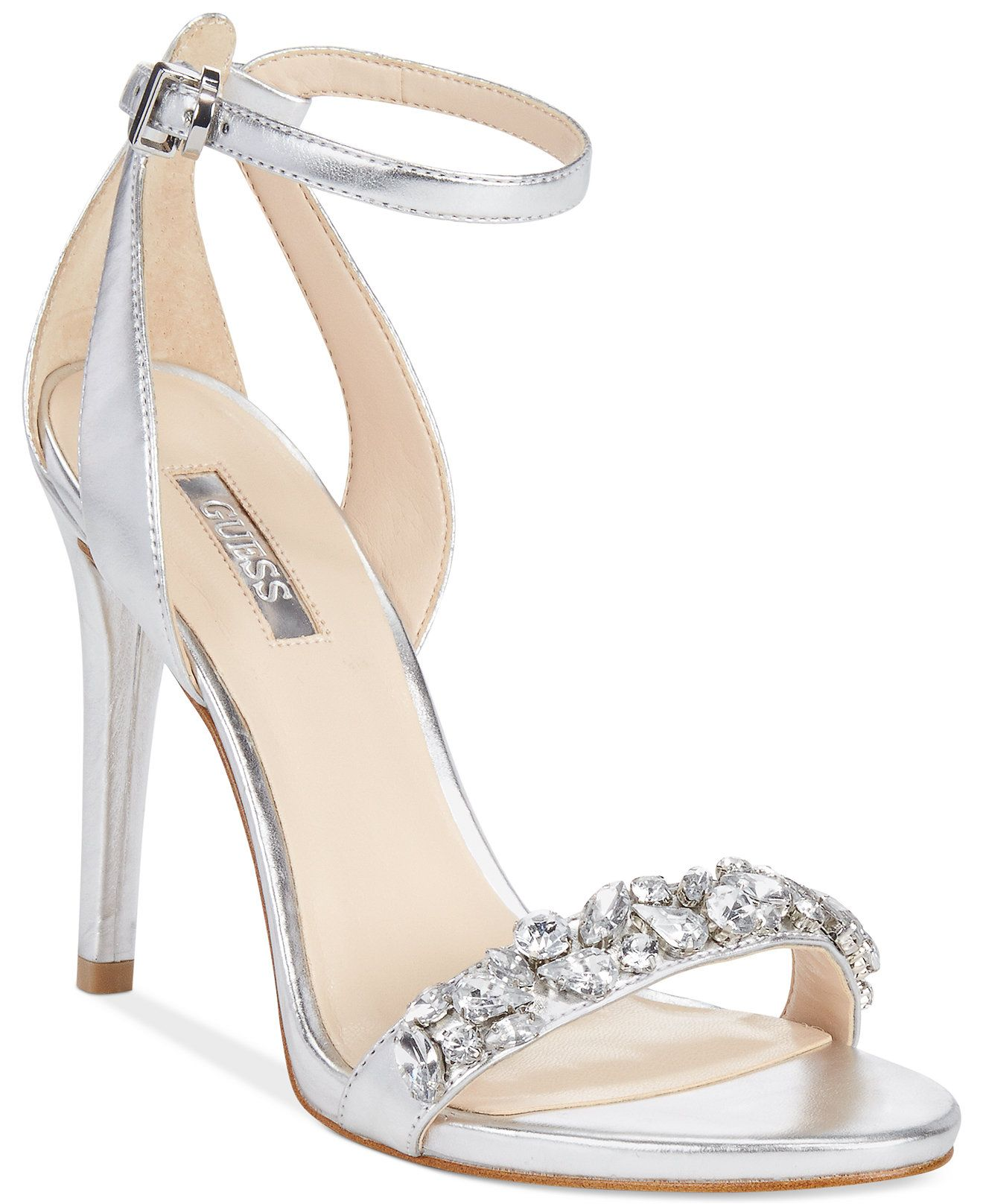 a0c21ac89d8394 GUESS Women s Caterina Two-Piece Sandals - Prom Shoes - Macy s ...