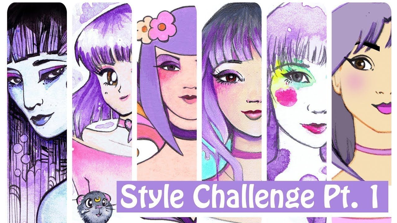 Finding Your Art Style Challenge By Leilani Joy Part 1 Art Style Challenge Style Challenge Art