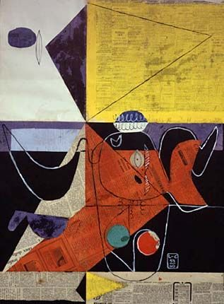 Another View Of Le Corbusier S Work Le Corbusier Corbusier Painting