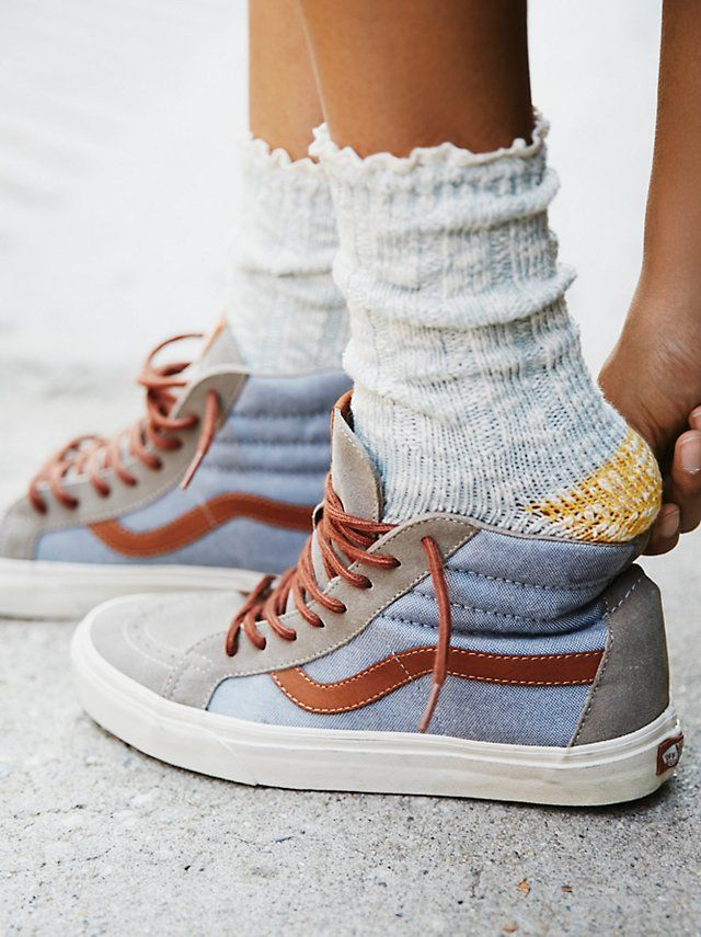 283fcfec7c Melbourne Heathered Crew Socks from Free People!