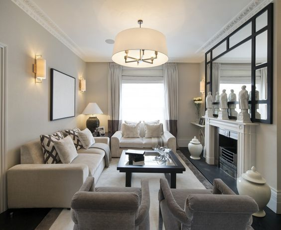Note Furniture Placement In Small Living Room Rectangle Living Room Small Living Room Layout Rectangular Living Rooms