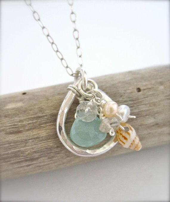 Summer jewelry - Hawaiian shell necklace #summer #style #sterling #designs explore sterlingjewelrystores.com