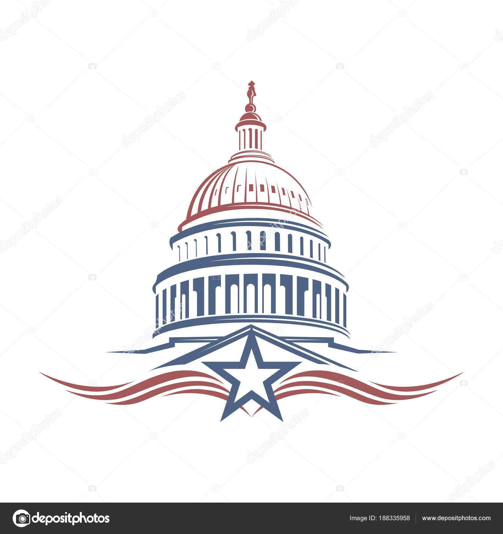 Download royaltyfree United States Capitol building icon