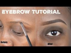 easy natural eyebrow tutorial  stepstep for beginners