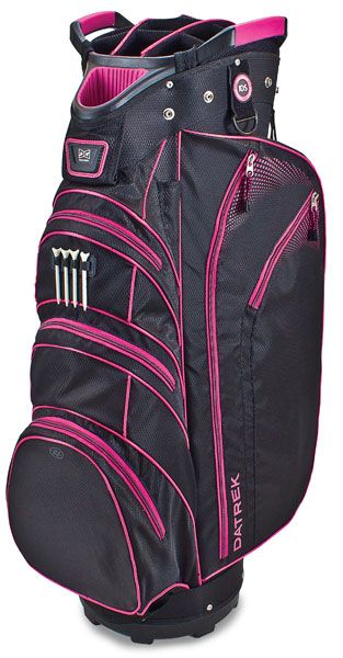 55528ef4fc6a Look no further for a fashionable yet functional golf bag. The Datrek Ladies  Men s Lite Rider Cart Bag offers plenty of features while staying ultra ...