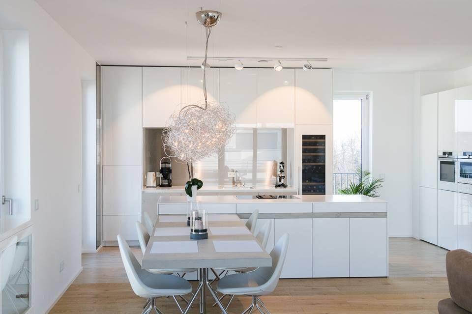 Offene Wohnküche von Küchenhaus Süd | кухни | Pinterest | Kitchens ...