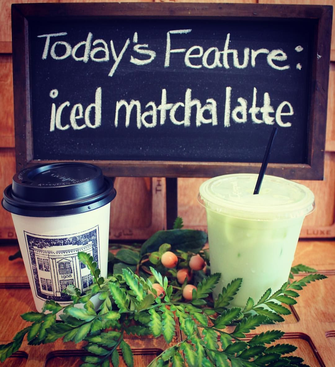 Try Your Iced Matcha Latte With Almond Milk... Some Might