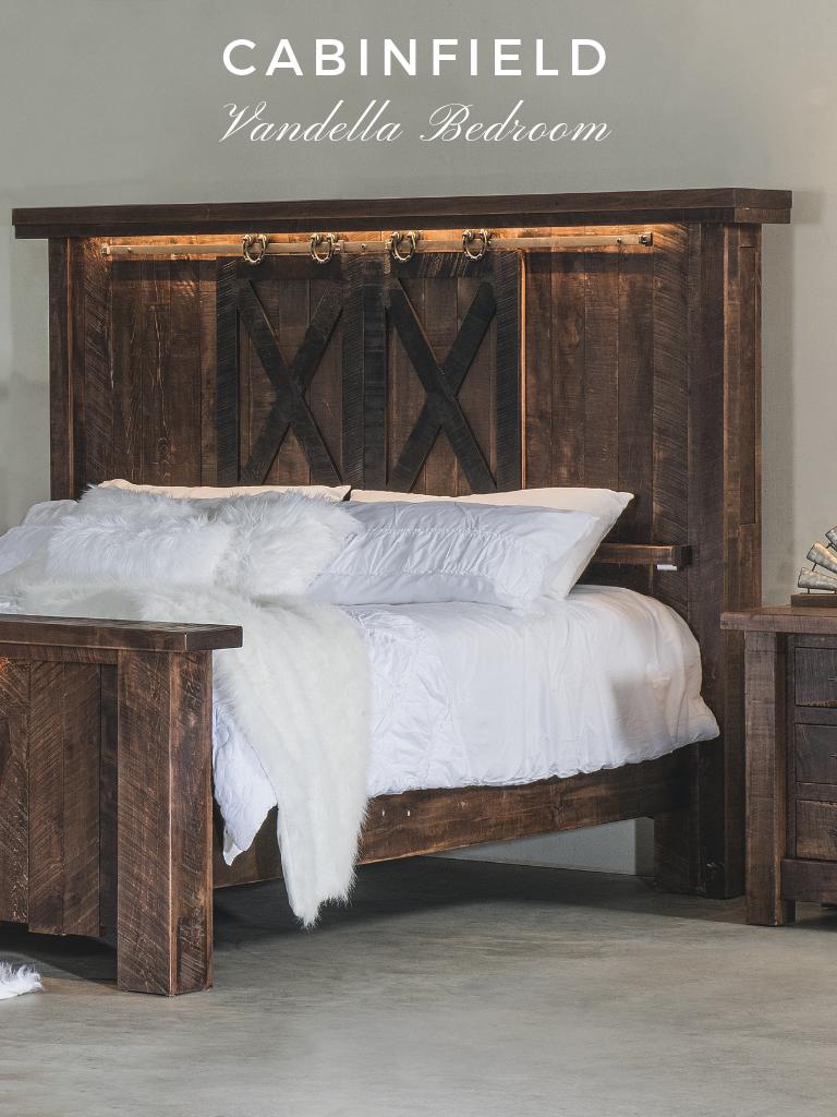 The Innate Character Of The Vandella Amish Bedroom Furniture