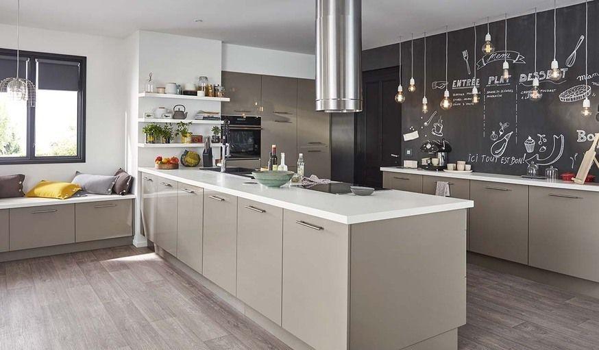 Un îlot central dans la cuisine  les bonnes questions avant de se - Plan De Cuisine Moderne Avec Ilot Central