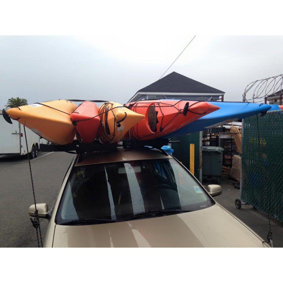 Thule Kayak Stacker Alder Creek Kayaking Kayak Rack Kayak Rack For Car