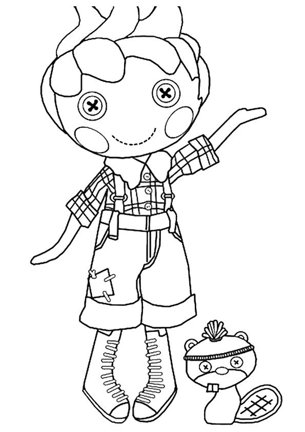 print coloring image | Lalaloopsy, Adult coloring and Free printables