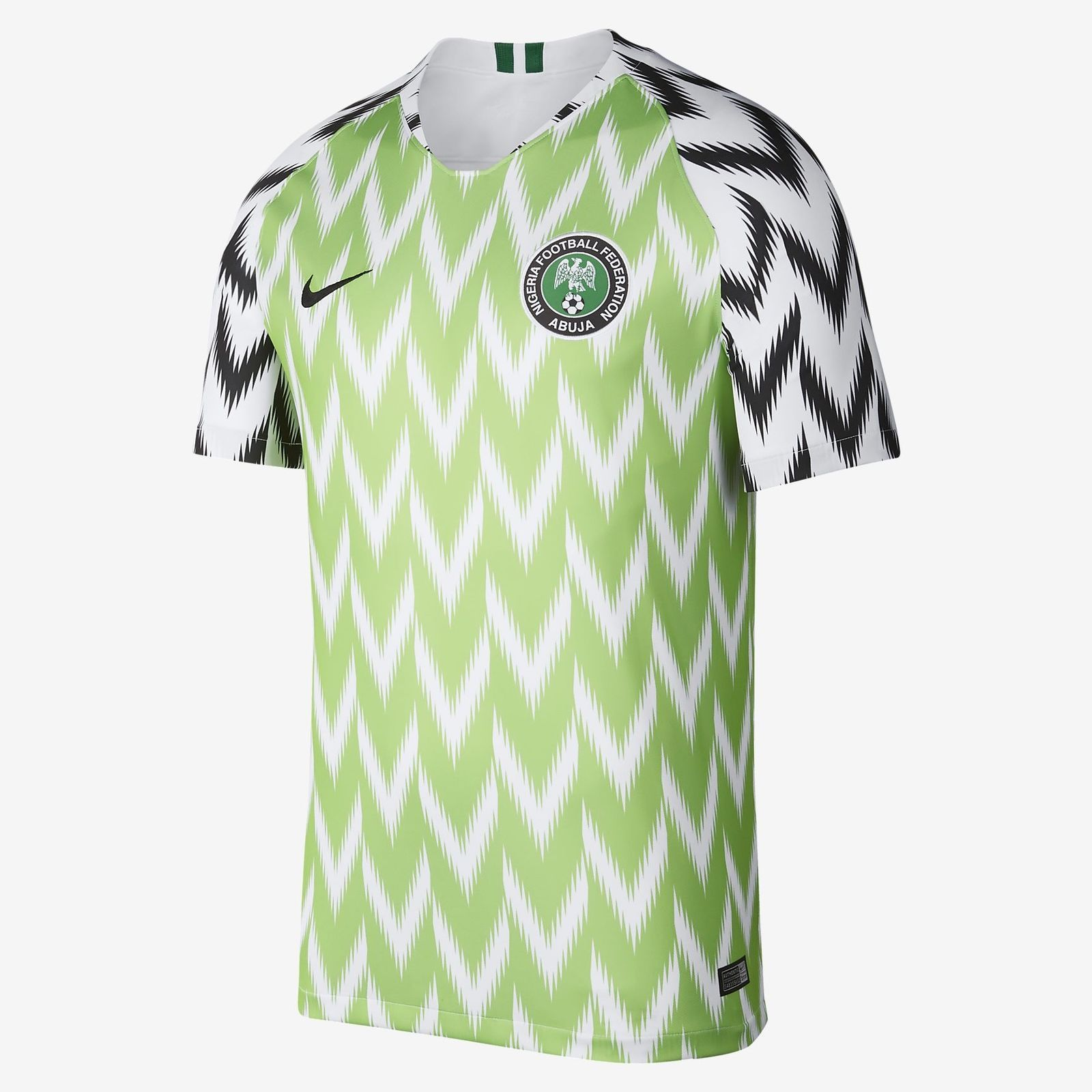 e010d3bfafa 2018 Nike Nigeria Men Home Soccer Jersey 893886-100 WORLD CUP Medium XXL  2Xl Discount Price 225.00 Free Shipping Buy it Now