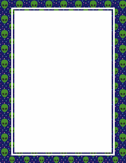 alien writing paper Intergalactic astronaut/alien passport writing frames (sb4098)  a template that  enables you to add your pupil names to coloured monster characters add the.