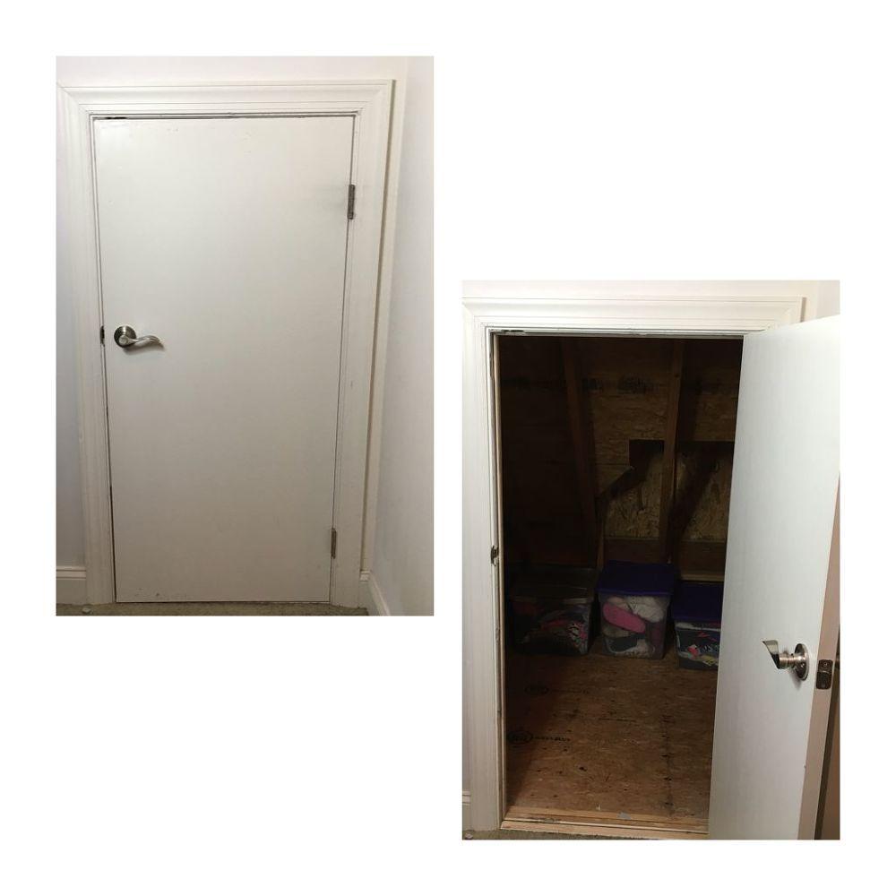 How To Insulate A Crawl Space Attic Door Attic Doors Attic Renovation Attic Design