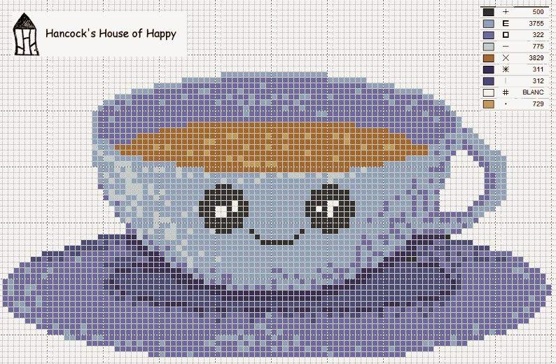 Hancock's House of Happy: It Kawaii Coffee Time! Again...