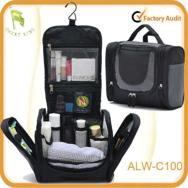 New Zipper Black Hanging Toiletry Travel Bag Organizer Photo Detailed About Picture