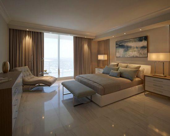 quarto moderno decoracao marrom (3) Dormitório de Casal