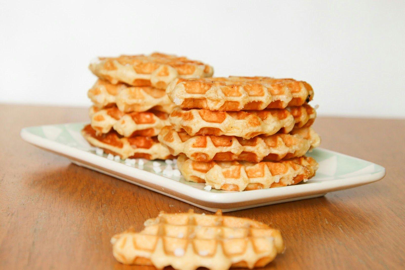 Belgium Crispy Waffle Recipe Di 2020 Hidangan Penutup Waffle Adonan