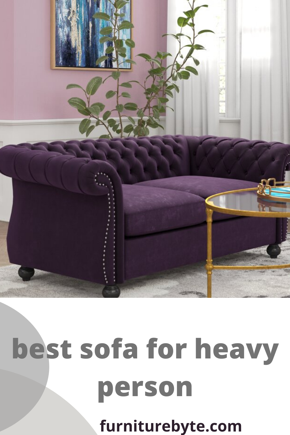 The Best Sofa For A Heavy Person. In 2020 | Best Sofa, Sofa, Sofa Review