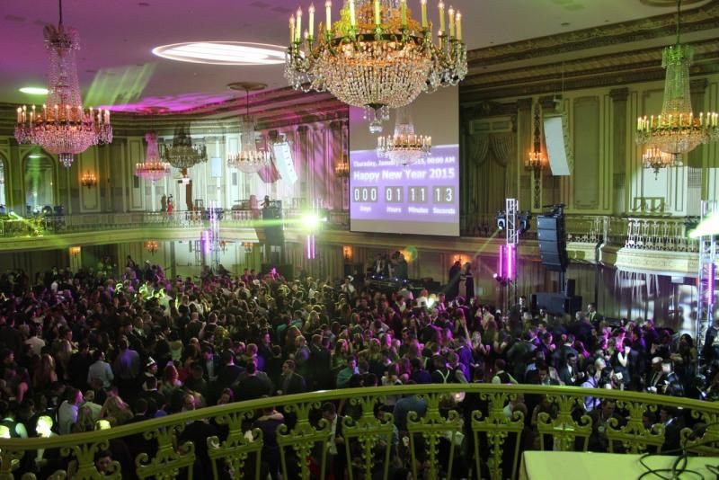 Big Night Chicago on New Year's Eve at Grand Ballroom of ...