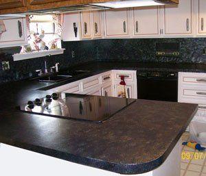 Giani Granite FG-GI BOMBAY Sicilian Granite Paint Kit For Countertops, Bombay Black - House Paint - Amazon.com