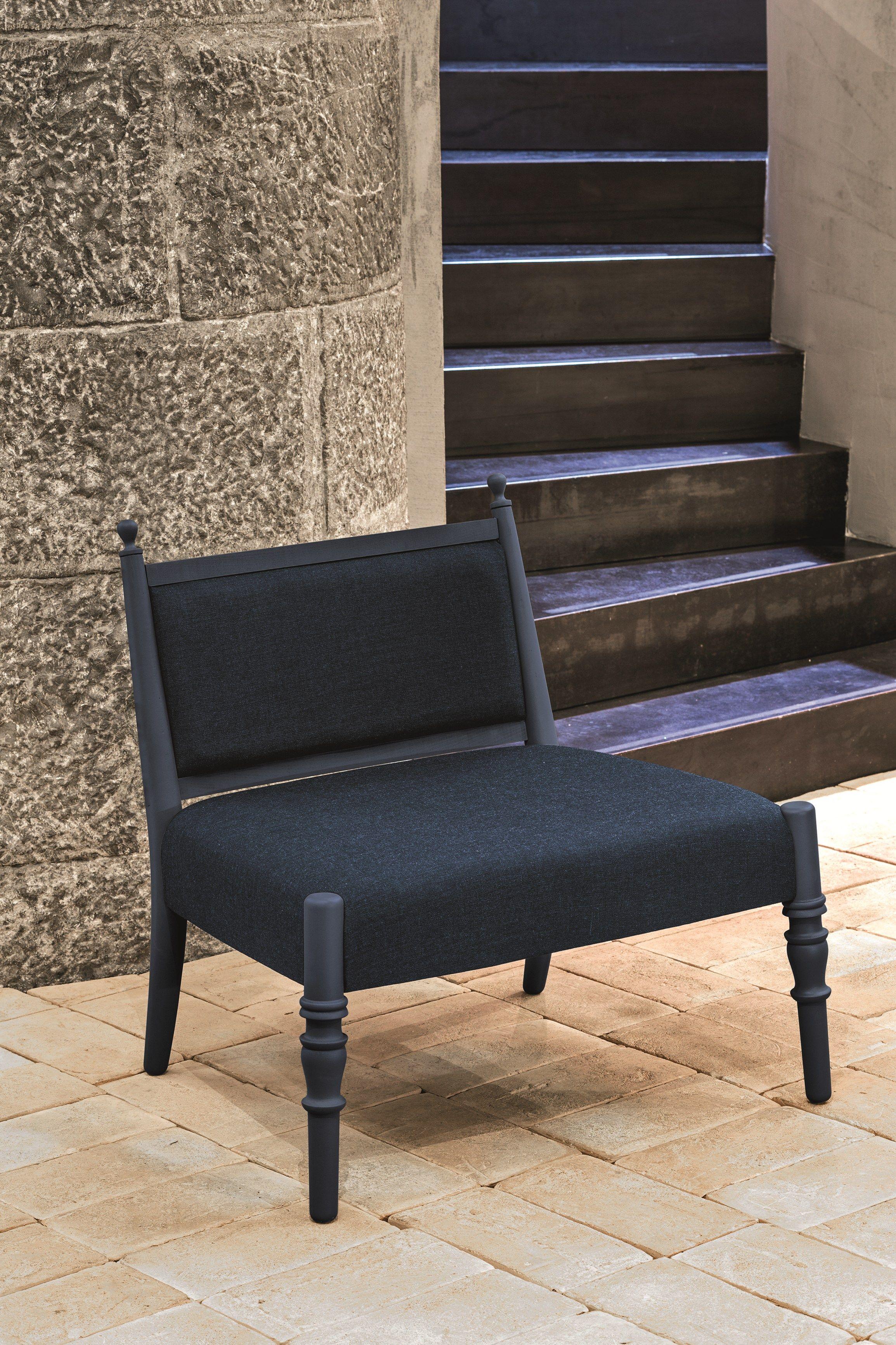 Petit fauteuil en hêtre CENTURY 7 Collection Century by Very Wood | design Marcel Wanders