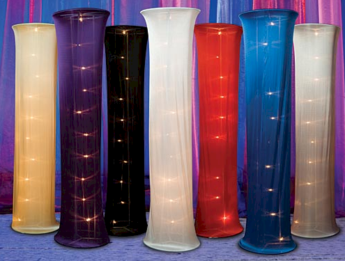 wedding colander tall lighted decorations columns for sale columns for rent decoration columns