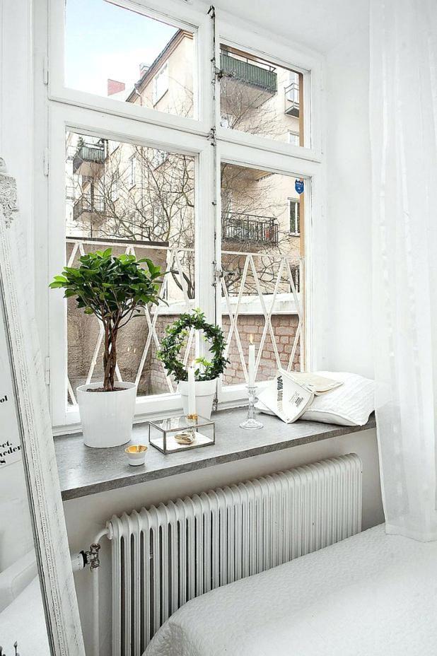 10 Schon Galerie Von Wohnzimmer Deko Fensterbank In 2020 Fenster