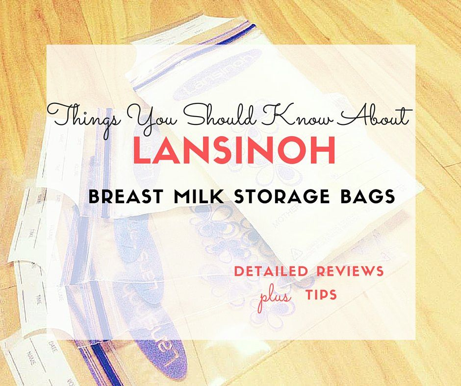 Lansinoh Breast Milk Storage Bags Reviews - Living with Low Milk Supply