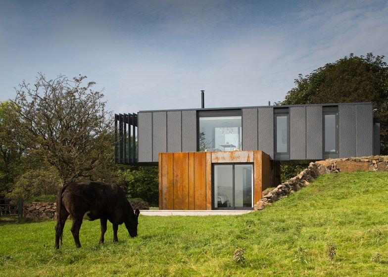 Patrick Bradley Developed Grillagh Water House For A Picturesque Site On His  Own Farm Near The
