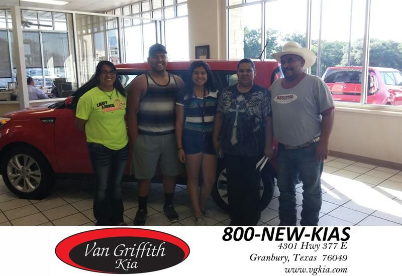Salesperson welcoming was overall excellent. KIA dealership was very friendly and amazing! Great people!  Ambrosio Rodriquez Saturday, August 08, 2015