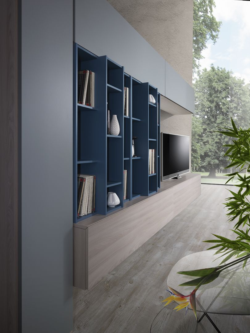 508 Living - Giessegi | Tv unit | Pinterest | Flessibilità ...