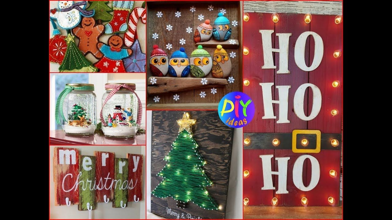 50 DIY Christmas Crafts To Make And Sell Best Ideas 2017