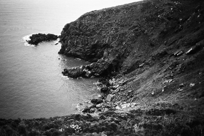 Film travel photo from Howth Cliff Walk, Ireland near