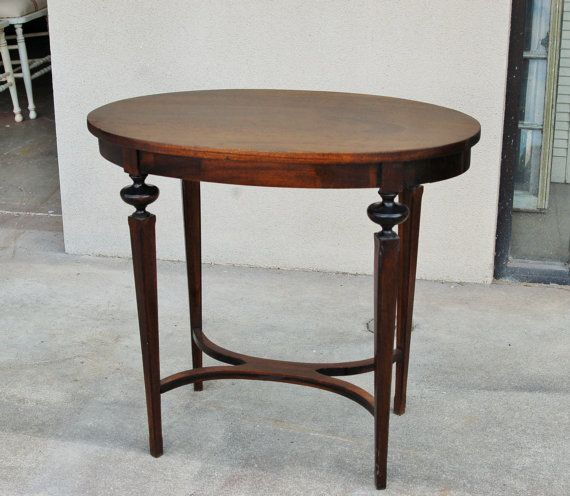 Vintage Walnut Side Table by RepeatOffenders on Etsy, $175.00