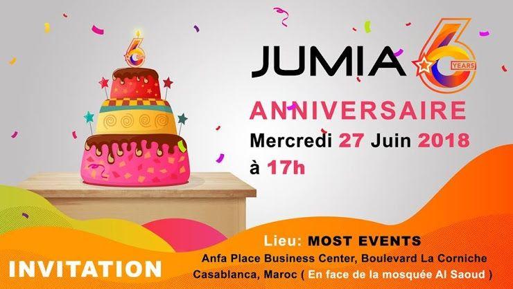 Invitation Vip Pour Jumia Anniversaire Création Des Trucs